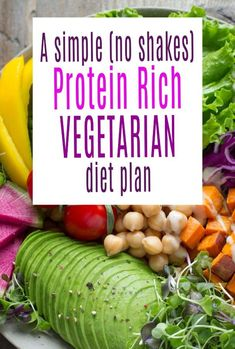 A look at a way to get a protein rich vegetarian diet plan with no shakes or protein bars in sight juts a host of healthy high protein vegetables High Protein Vegetarian Diet, Vegetarian Recipes Easy, Protein Bars, Protein Shakes, Syn Free Breakfast, High Protein Vegetables, Frugal Family, Slimming World Recipes, Budget Meals