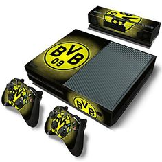 Mod Freakz Console and Controller Vinyl Skin Set  Glowing Yellow Circle for Xbox One >>> Check out the image by visiting the link.Note:It is affiliate link to Amazon.