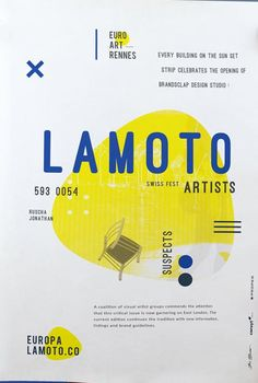 Lamoto Promotional Free Poster Template