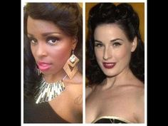 Check out my Dita Von Teese Inspired Look!
