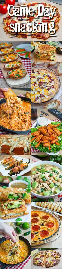 football food The The Big Game, aka the NFL football playoffs are this coming weekend and that means that it's time to start planning your game day snacking menu! Whether you are throwin Game Day Appetizers, Game Day Snacks, Game Day Food, Appetizer Recipes, Snack Recipes, Super Bowl Party, Tailgating Recipes, Tailgate Food, Tailgate Parties