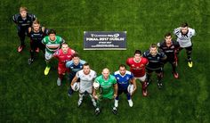 The Guinness PRO12 launch took place in Dublin at the Aviva Stadium