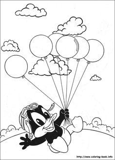 Baby Looney Tunes 7 Ausmalbilder | Ziyaret Edilecek Yerler ...