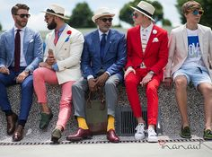 Los caballeros #Pitti son empresarios y líderes de empresas de moda que visten lo que venden ¿Qué te parece?