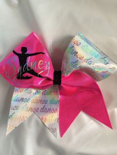 Dance Personalized Bow