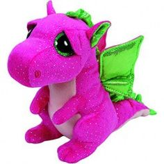 d7b8d9eb1e6 Ty Beanie Boos - Darla the Pink Dragon (Regular)