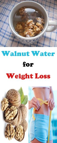 Have You Tried to Lose Weight with Walnut Juice?  Weight Loss with Walnut Water