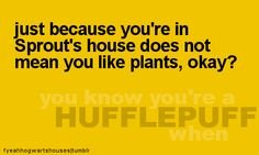 You know you're a Hullflepuff when