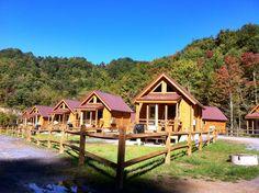 Ashland Resort. ATVs welcome!  located near the Indian Ridge Trail on the Hatfield McCoy ATV Trails.  www.atvresort.com