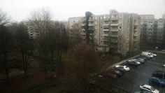 Wohnungen in Steilshoop an einem regnerischen Tag   Apartments in Steilshoop area on a rainy day - 27/11/2014
