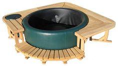 Ideen, Garten, Deko & basteln Surround Deck Nanotechnology Offers Insulating Benefits A growing numb Hot Tub Gazebo, Hot Tub Backyard, Hot Tub Garden, Jacuzzi Outdoor, Piscina Diy, Piscina Intex, Hot Tub Privacy, Jacuzzi Pool, Deco Spa