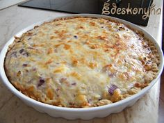Quiche, Macaroni And Cheese, Pizza, Ethnic Recipes, Food, Recipes, Mac Cheese, Meal, Essen