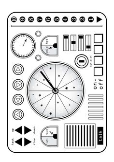 rocket ship control panel - Google Search                              …