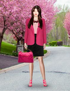 Look from latest collection of: Bensimon, Bialcon, Friis & Company, Monsoon, Nife, Sesst. GLAMSTORM.COM - virtual stylist.
