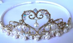 Make your own tiara. I need to learn how to do this!