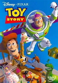 In Toy Story became the first full length CG film. Through the company Pixar, Toy Story was a box office hit and created a revolution in animation by replacing hand drawn images to computer generated models. Film Pixar, Pixar Movies, Kid Movies, Family Movies, Great Movies, Movies And Tv Shows, Animation Movies, Animation Studios, Computer Animation