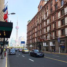Shanghai c'est un peu comme NY mais en beaucoup plus grand ! #shanghaicity #thebund  #ailleursisbetter
