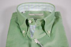 01d77b543823d7 Camicia ingram slim fit verde taglia 41 l button down Button Downs, Italy,  Fitness