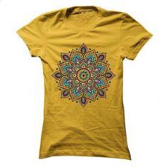 Floral Mandala - tshirt printing #under armour hoodie #sweater pillow