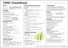 twig Web Design Tips, Cheat Sheets, Something To Do, Create, Programming, Web Development, Computer Programming, Coding