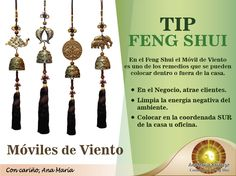 #TipFengShui: Recuérdenlo, los móviles son muy importantes en el #FengShui. Limpian la Energía Negativa del hogar y la oficina.  ➤http://anamariabalarezo.blogspot.pe/