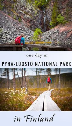 how to see all most important sights and landlarks of Pyha-Luosto National Park in Finland within one day. Including hiking trails description and maps. best autumn hikes in Finland Hiking Routes, Hiking Trails, Day Hike, Day Trip, Lappland, Best Hikes, Europe Destinations, Continents, Finland