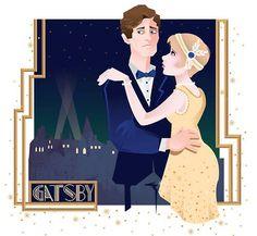 The Great Gatsby Fan At by Brandan Ray Leathead