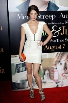 Ashley Greene - because someone made me watch Twilight and I discovered that this is the one that could bite me...