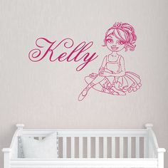 Wall Decal Name Personalized Custom Decals Vinyl Sticker Art Home - Custom vinyl wall decals dance