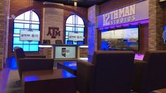 Explore photos of Texas A&M's TV set design in this interactive gallery of the studio. Tv Set Design, Texas A&m, Football Season, College Football, Mondays, Studio, Gallery, Counting, Fall Fashion