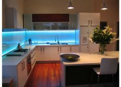 [ Another Under Kitchen Cabinet Lighting This White Led Light Dilemma With New Lights ] - Best Free Home Design Idea & Inspiration Pantry Lighting, Led Lighting Home, Led Under Cabinet Lighting, Kitchen Lighting Fixtures, Cabinet Lights, Light Fixtures, Interior Exterior, Home Interior, Interior Ideas