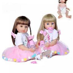 Baby Dolls For Kids, Newborn Baby Dolls, Cute Baby Dolls, Reborn Baby Girl, Baby Girl Dolls, Toddler Dolls, Toddler Girl, Cute Babies, Silicone Reborn Babies