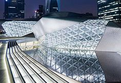 Guangzhou Opera House  Guangdong, China