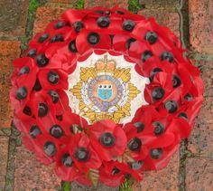 A poppy wreath from the Royal British Legion