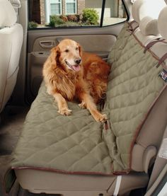 Dog Bench Seat Cover Pets Cat Truck Auto Van Protect Pen Bowl Crate Kennel Bone