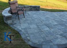 Nicolock Granite City #kentuckytwist, #nicolock, #backyard, #outdoor, #patio Granite City, Backyard, Patio, Deck, Outdoor Decor, Wall, Projects, Home Decor, Log Projects