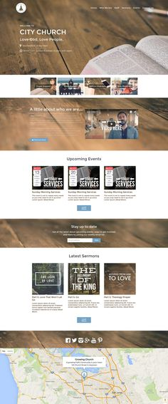 Restore Church WordPress Theme Bundle Home Page.