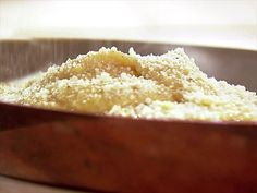 Ina's Creamy Parmesan Polenta is a tasty alternative to rice or potatoes.