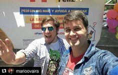 #Repost @marioovaira with @repostapp  Espectacular día en #palmasdepular animando el #mcdiafeliz con @nikobizarro y @monkystudioss