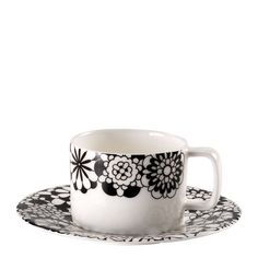 Buy Missoni Bianco Nero Tea Cup & Saucer  From Occa-Home