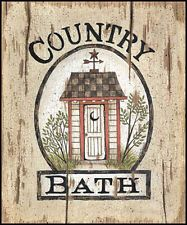 Art Print, Framed or Plaque by Linda Spivey - Country Bath Outhouse - LS1153