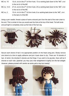 1 million+ Stunning Free Images to Use Anywhere Irish Crochet Patterns, Crochet Amigurumi Free Patterns, Crochet Doll Tutorial, Crochet Doll Pattern, Yarn Dolls, Knitted Dolls, Crochet Case, Loom Craft, American Girl Crafts