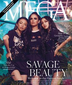MEGAExclusiveWithFandH (ctto) Nadine with May May and Georgina Filipino Models, Best Fashion Magazines, Filipina Beauty, World Of Fantasy, Latest Issue, Star Vs The Forces Of Evil, Beauty Editorial, All About Fashion, Style Guides