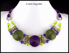 2 Good Claymates: Polymer Art Jewelry Challenge - Day 3
