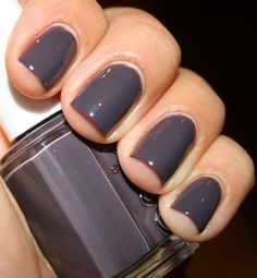 Smokin Hot.  A great purple toned grey, one of my favs.  The formula is good, and is completely opaque with 2 coats.