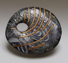 Image of SeaCliff Brooch 1  by Tory Hughes