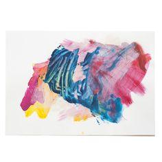 MaritaSpeenArt   abstract drawing on paper   original art
