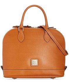 Dooney & Bourke Saffiano Zip Zip Satchel - Handbags & Accessories - Macy's