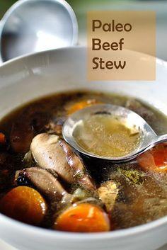 Paleo Beef Stew (AIP, SCD, NSD, Paleo, Gluten-free)