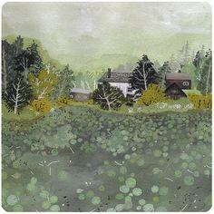 lily pond by beccastadtlander on Etsy, $25.00